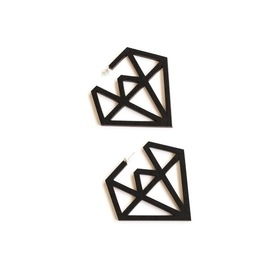 Doo Wop Earrings- Black