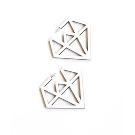 Doo Wop Earrings- White