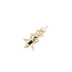 Juliane - Gold Hair Clip With Stars