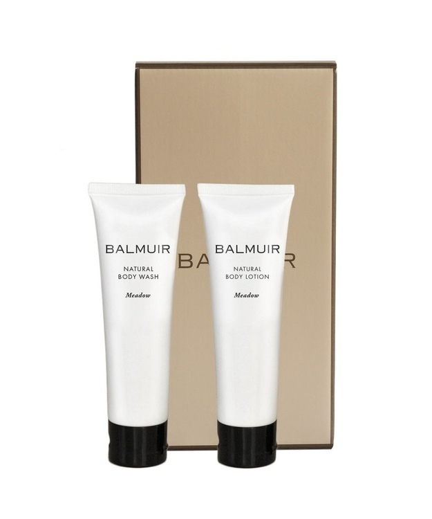 Balmuir- lahjasetti body soap+body lotion 2x60ml